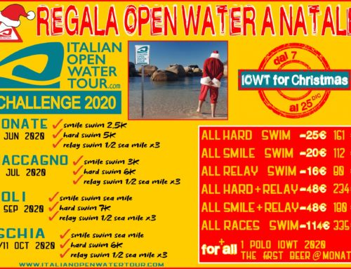 REGALA ITALIAN OPEN WATER TOUR A NATALE!!!